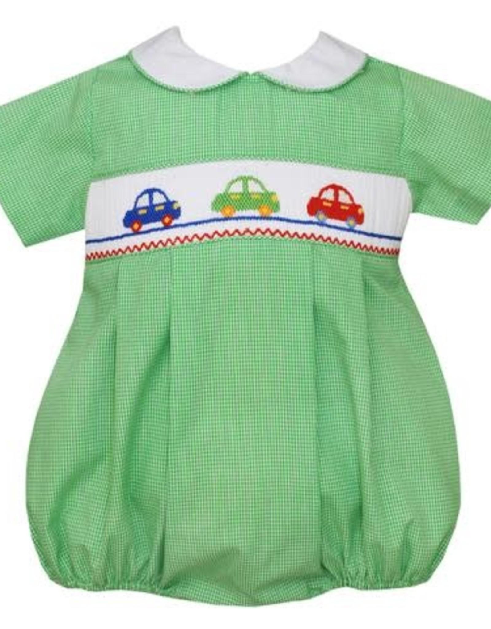 Petit Bebe Cars Boys Bubble Green