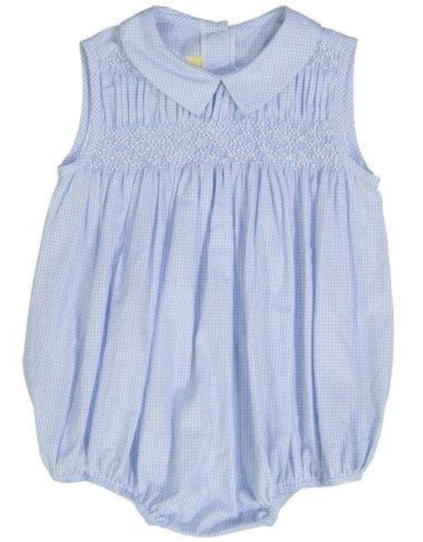 Pixie Lilly Blue Gingham Bubble