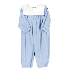 The Bailey Boys Light Blue Cord, Dressy Bubble Long Sleeve