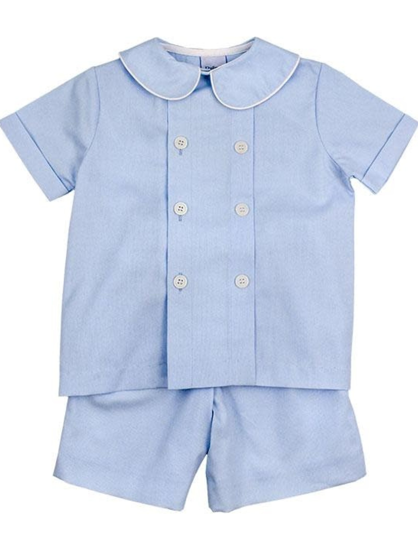 The Bailey Boys Seaside Pinwhale Dressy Short Set