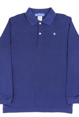 The Bailey Boys Long Sleeve Chambray Polo Shirt