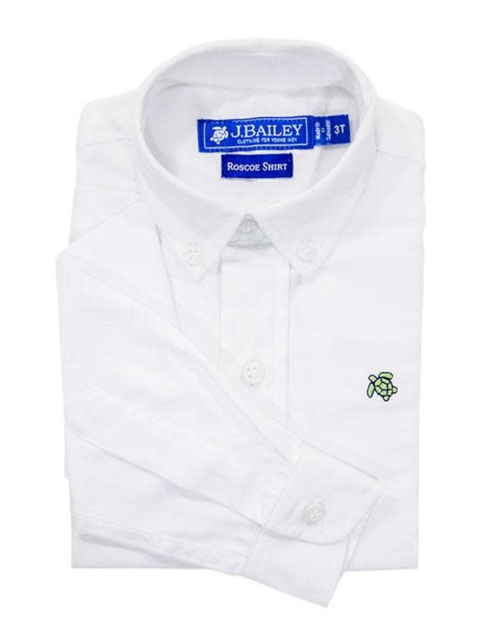 The Bailey Boys Oxford Shirt White Roscoe