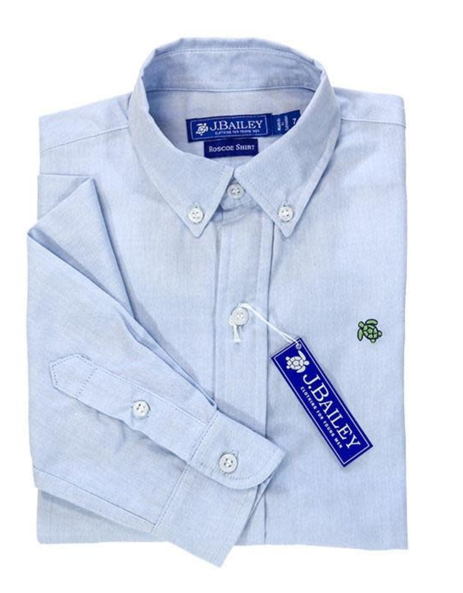 The Bailey Boys Oxford Shirt Blue, Roscoe