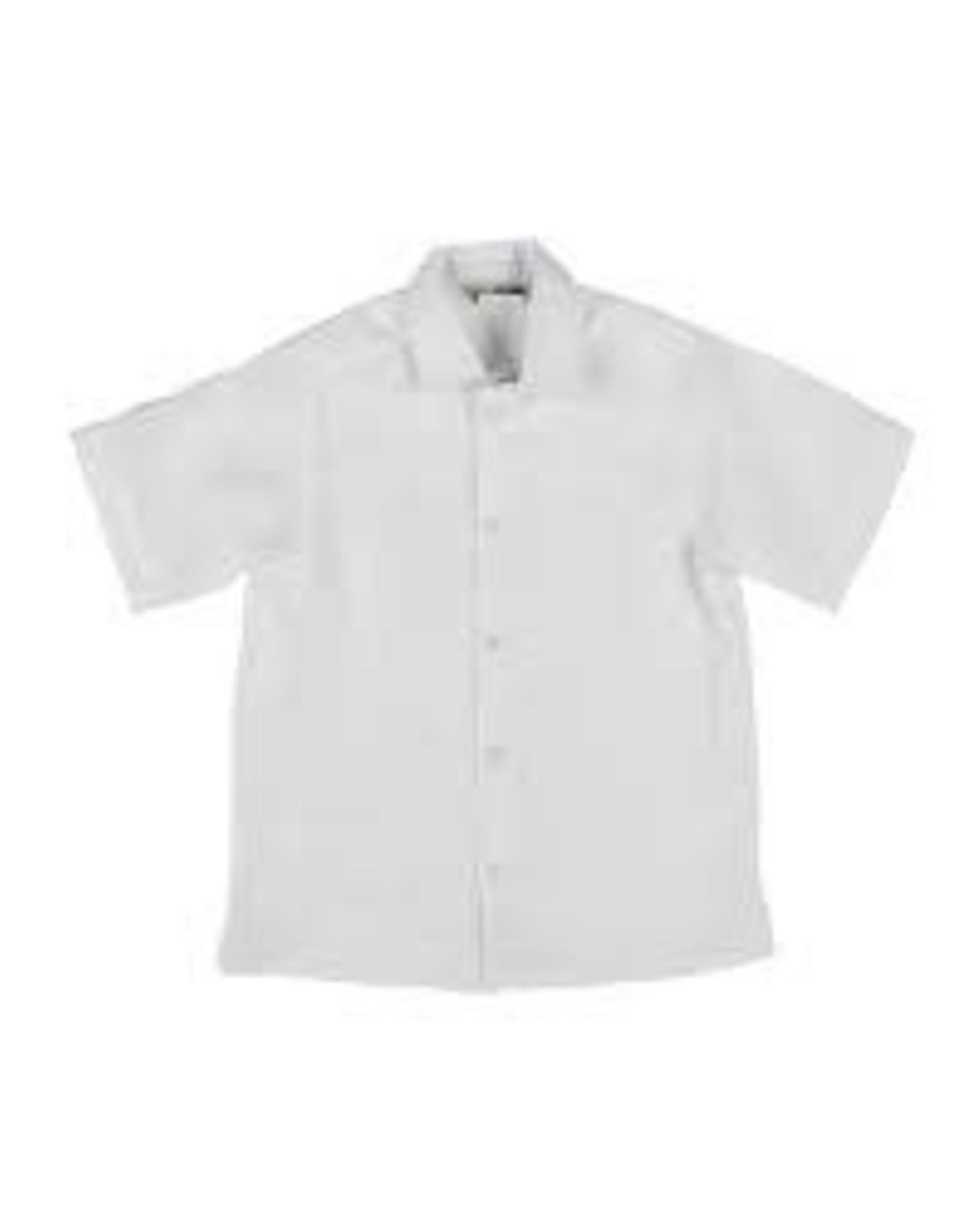 Florence Eiseman White Linen Camp Shirt