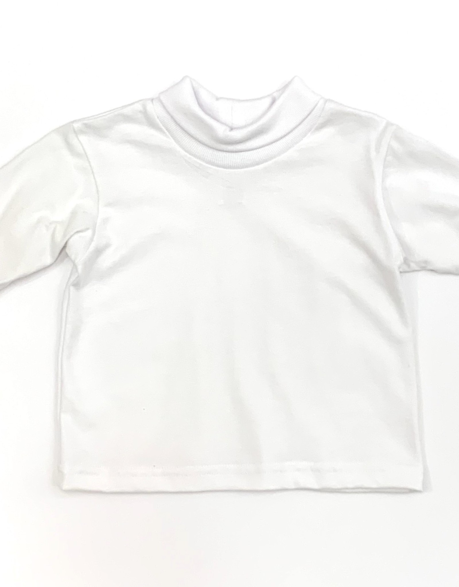 Funtasia Too Unisex White Turtleneck