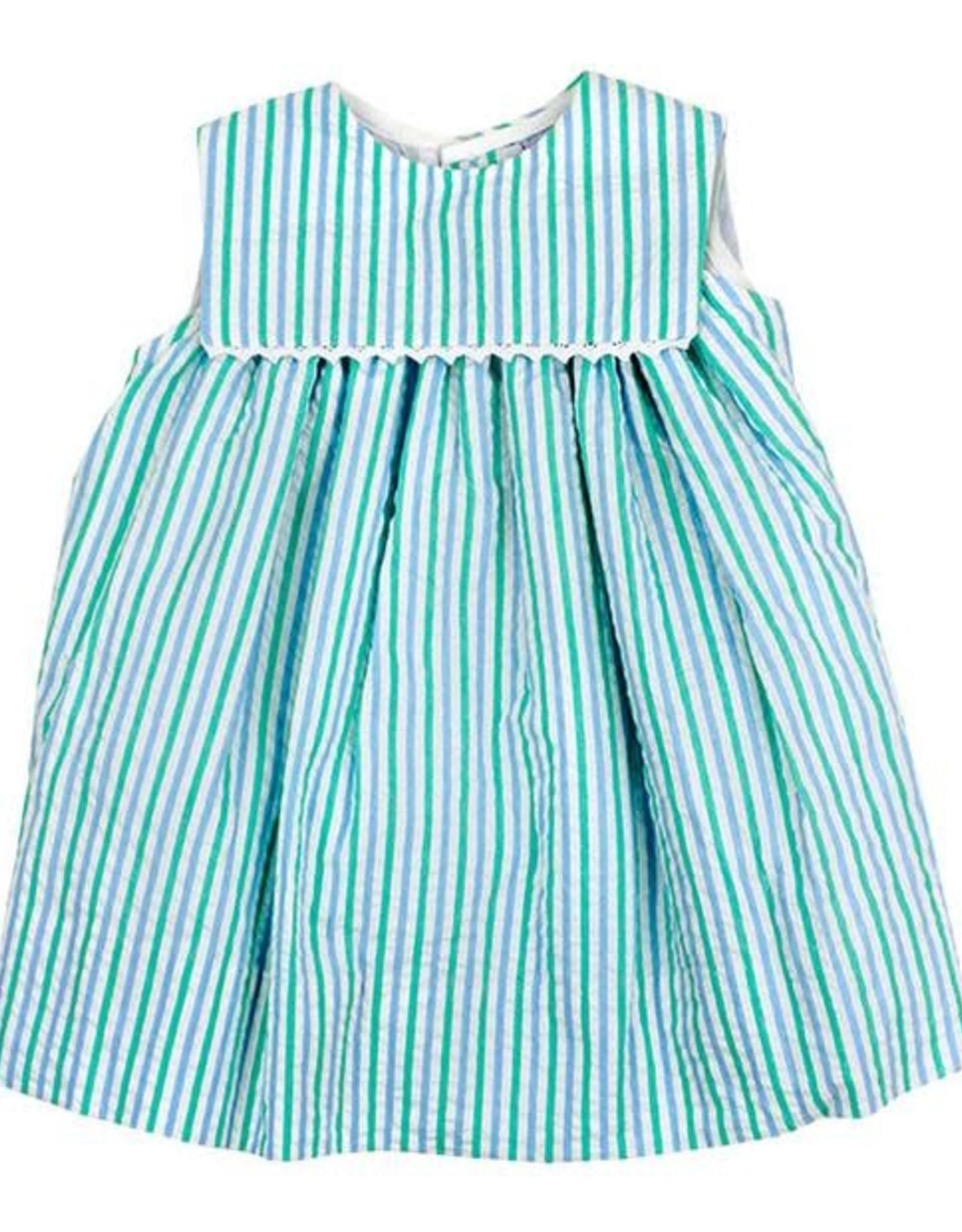 The Bailey Boys Mint Seersucker, Float Dress