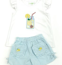 Zuccini Lemon Short Set