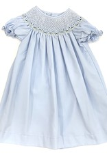 Sweet Dreams Nicky Blue Smocked Dress