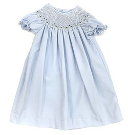 Sweet Dreams Nicky Blue Smocked Dress