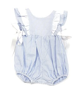 Funtasia Too Pinafore Bubble, Blue Stripe