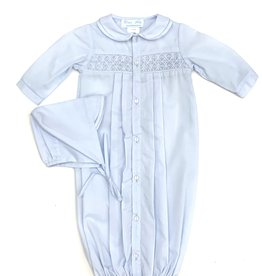 Petit Ami Blue Newborn Sac Set