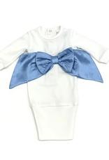 Imagewear LLC Blue Bow Infant Sac
