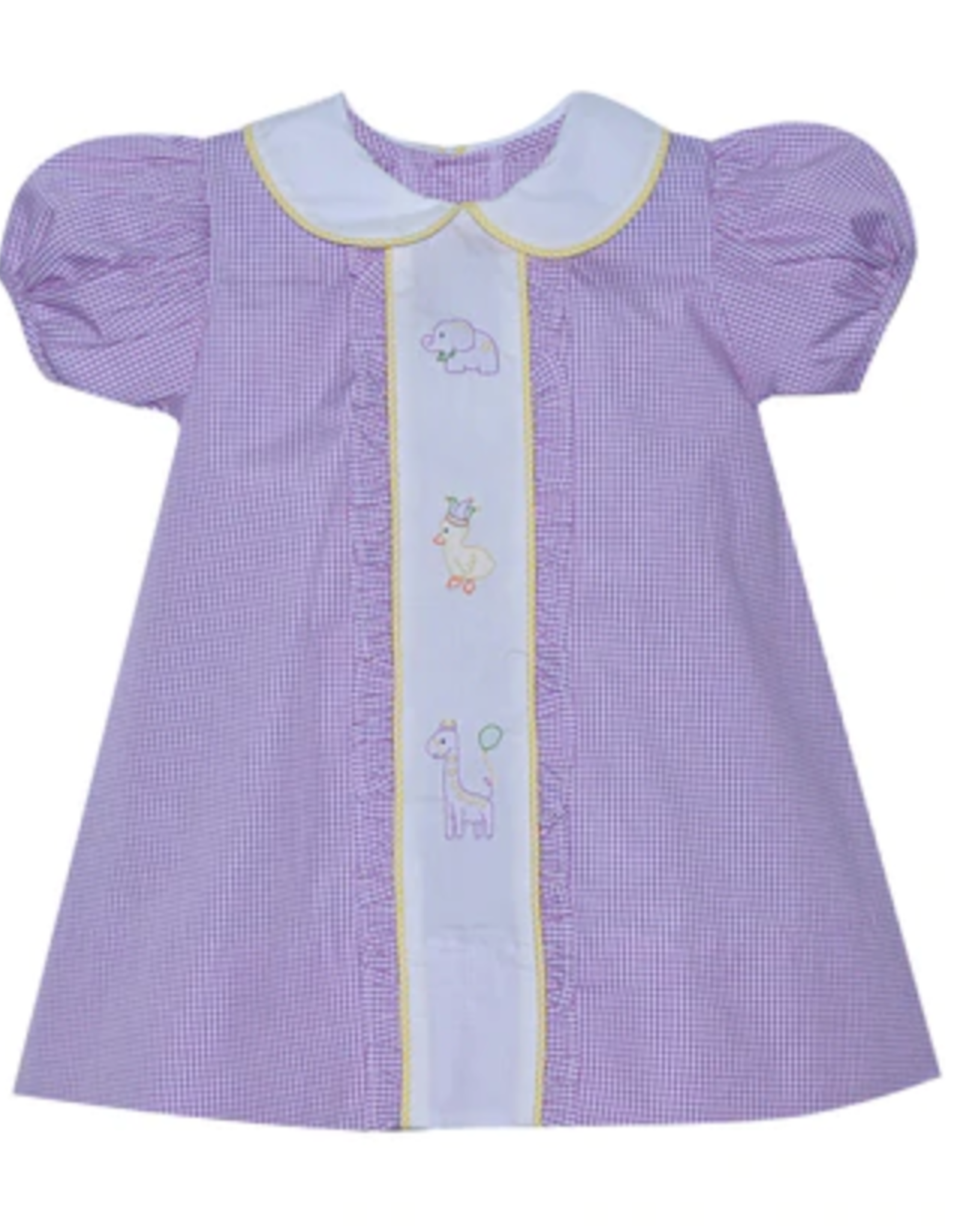 Sen Baby Lavander Parade Animals Dress