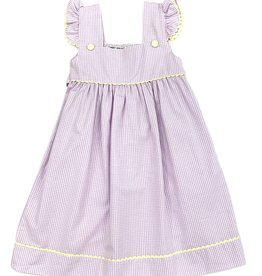 Sweet Dreams Lavender Gingham Dress