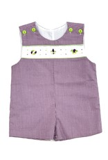 Lulu Bebe LLC Mardi Gras Shortall with Embroidery
