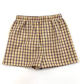 Funstyle Boys Shorts LSU Plaid