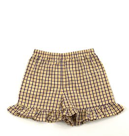 Funstyle Girls Shorts LSU plaid