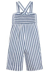 Mayoral Blue Stripped Jumpsuit