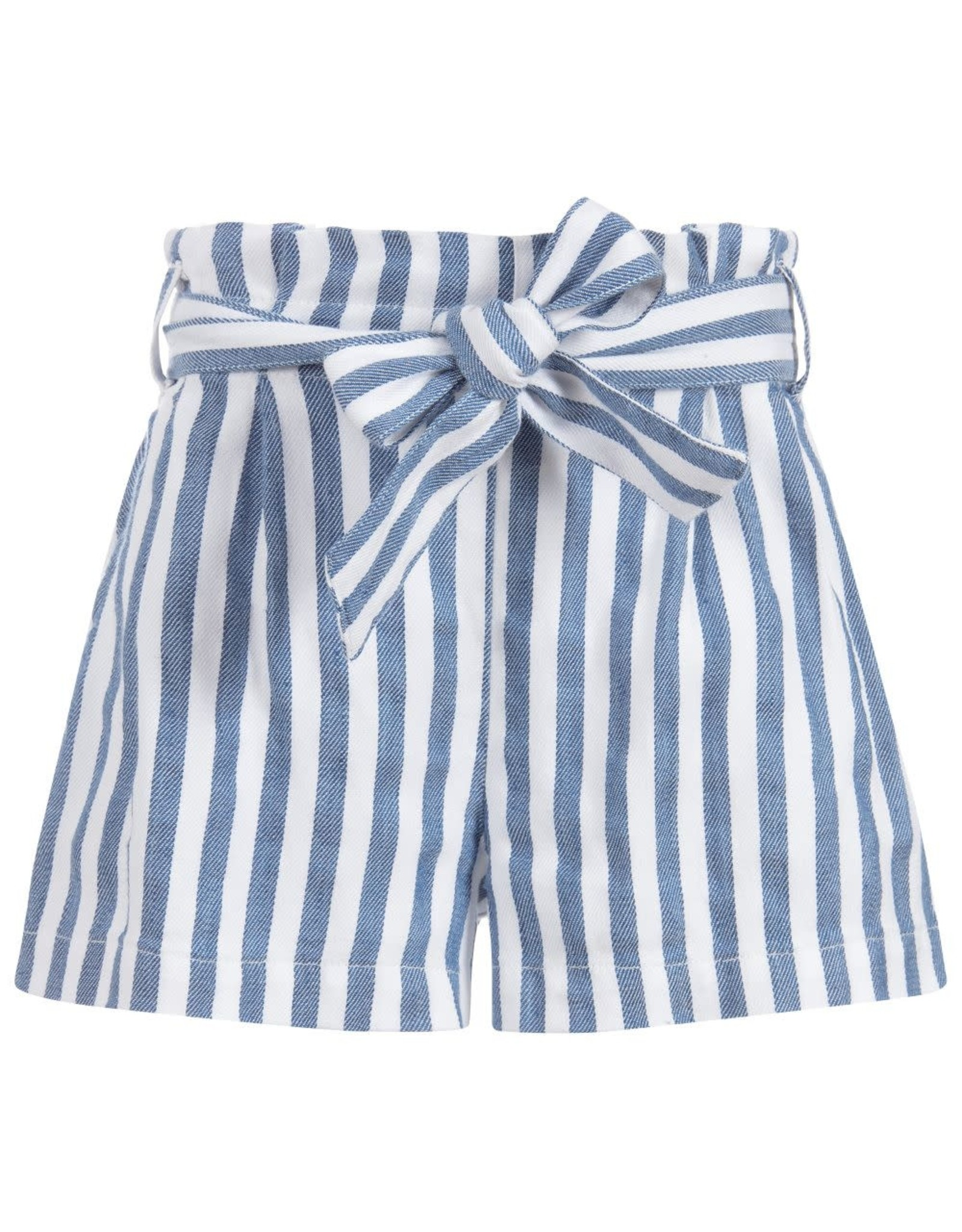 Mayoral Blue Stripped Shorts