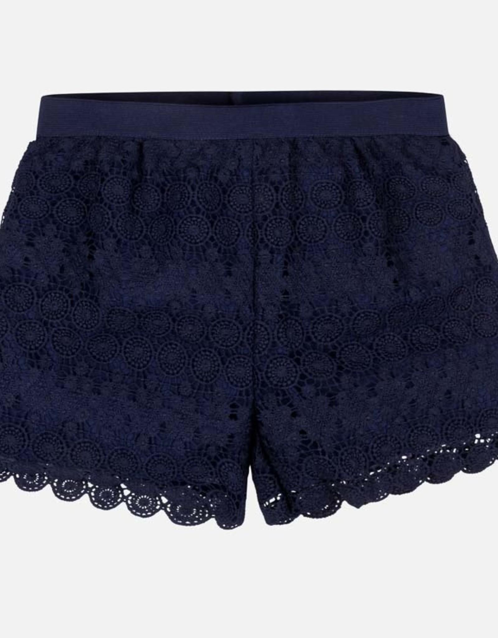 Mayoral Navy Guipur Shorts