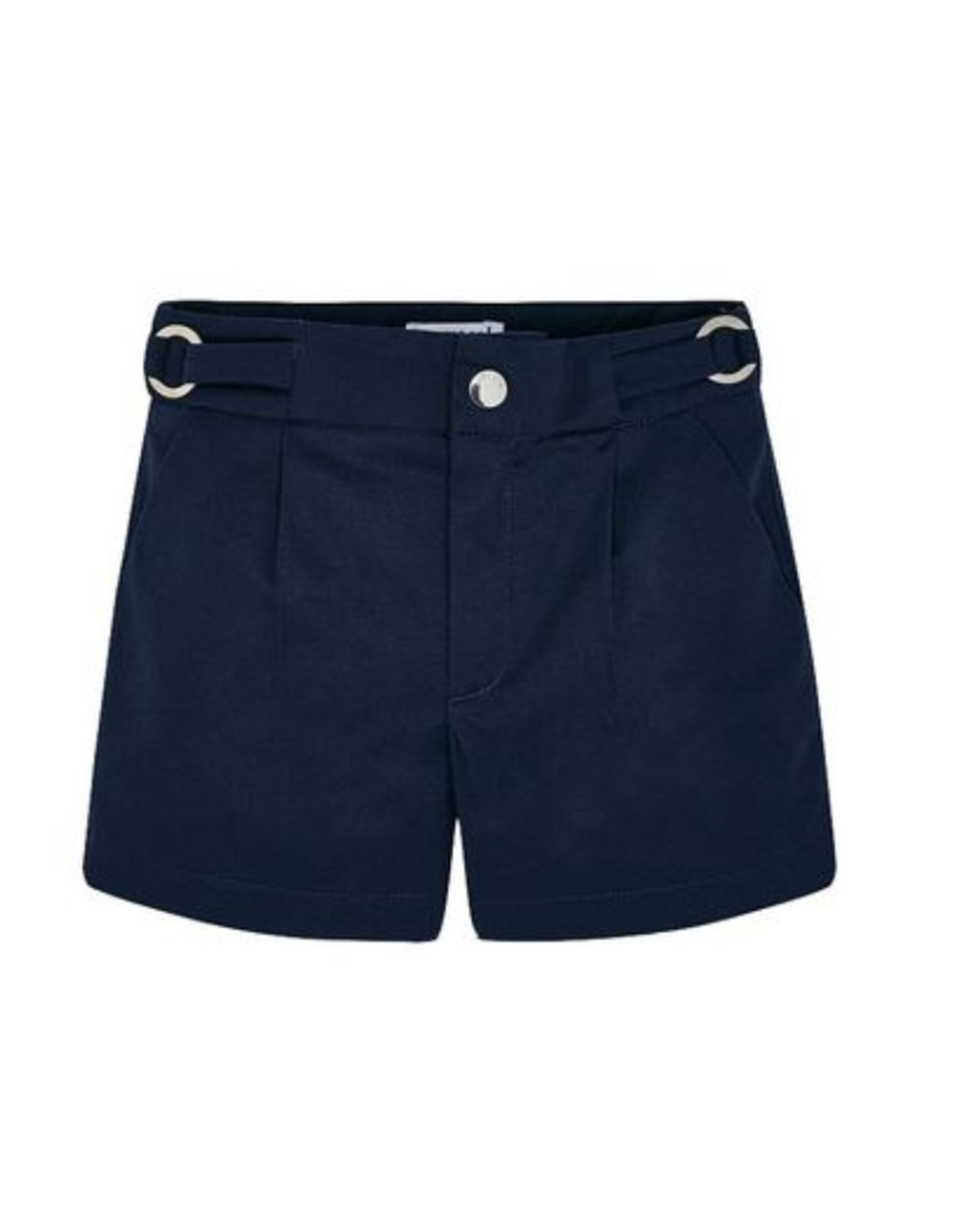 Mayoral Navy Satin Shorts