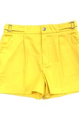 Mayoral Yellow Satin Shorts