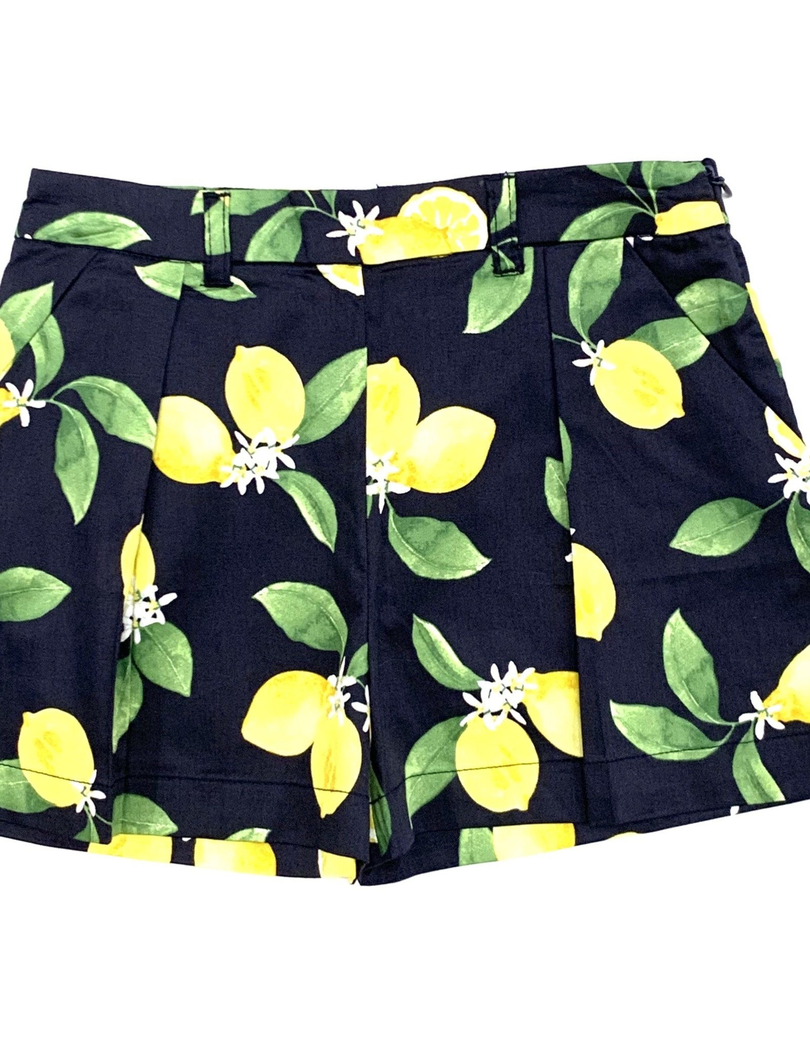 Mayoral Navy Lemon Shorts
