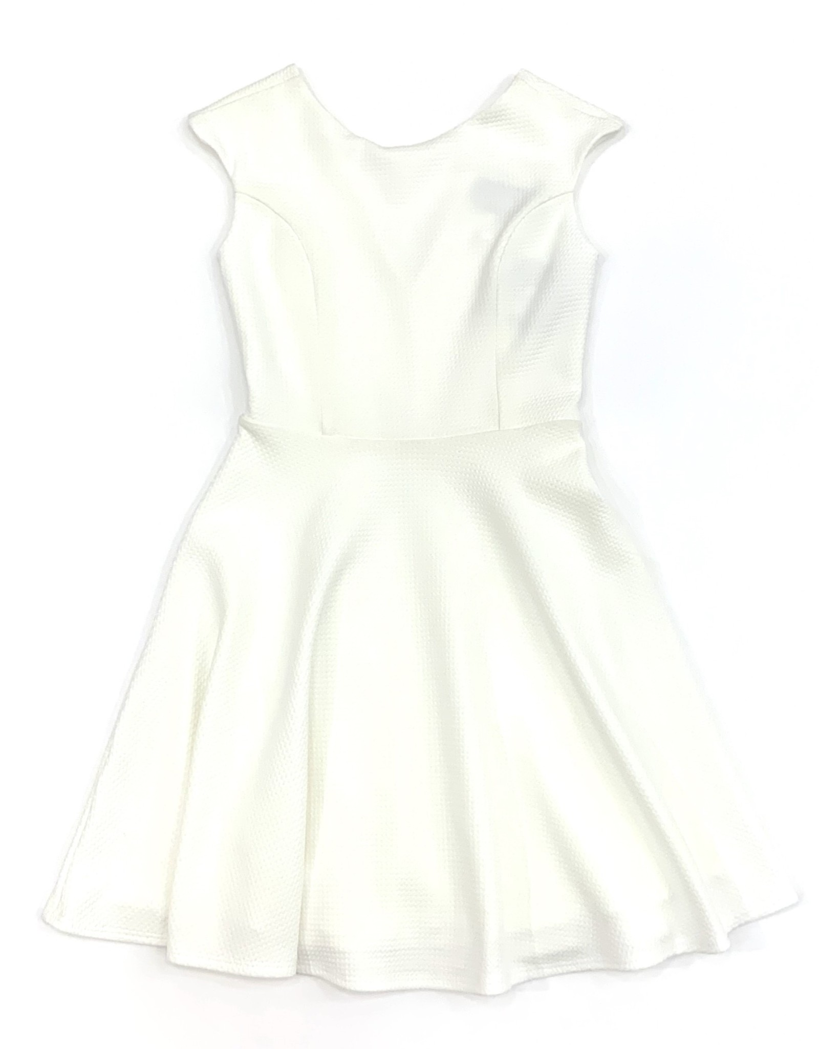 Un Deux Trois Cap Sleeve Dress with V back