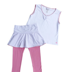 SET Quin Pink Shirt, Skirt, and Legging Set