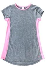 SET Lindsey Grey With Pink Trim