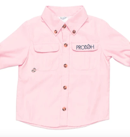 Prodoh Core Fishing Shirt Pink