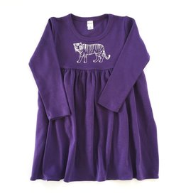 Honey Bee Tees Tiger Long Sleeve Dress