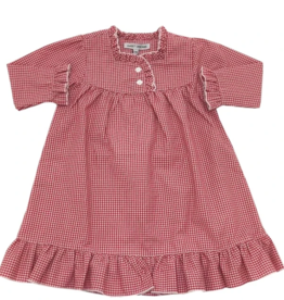 Sweet Dreams Red Gingham PJ Gown