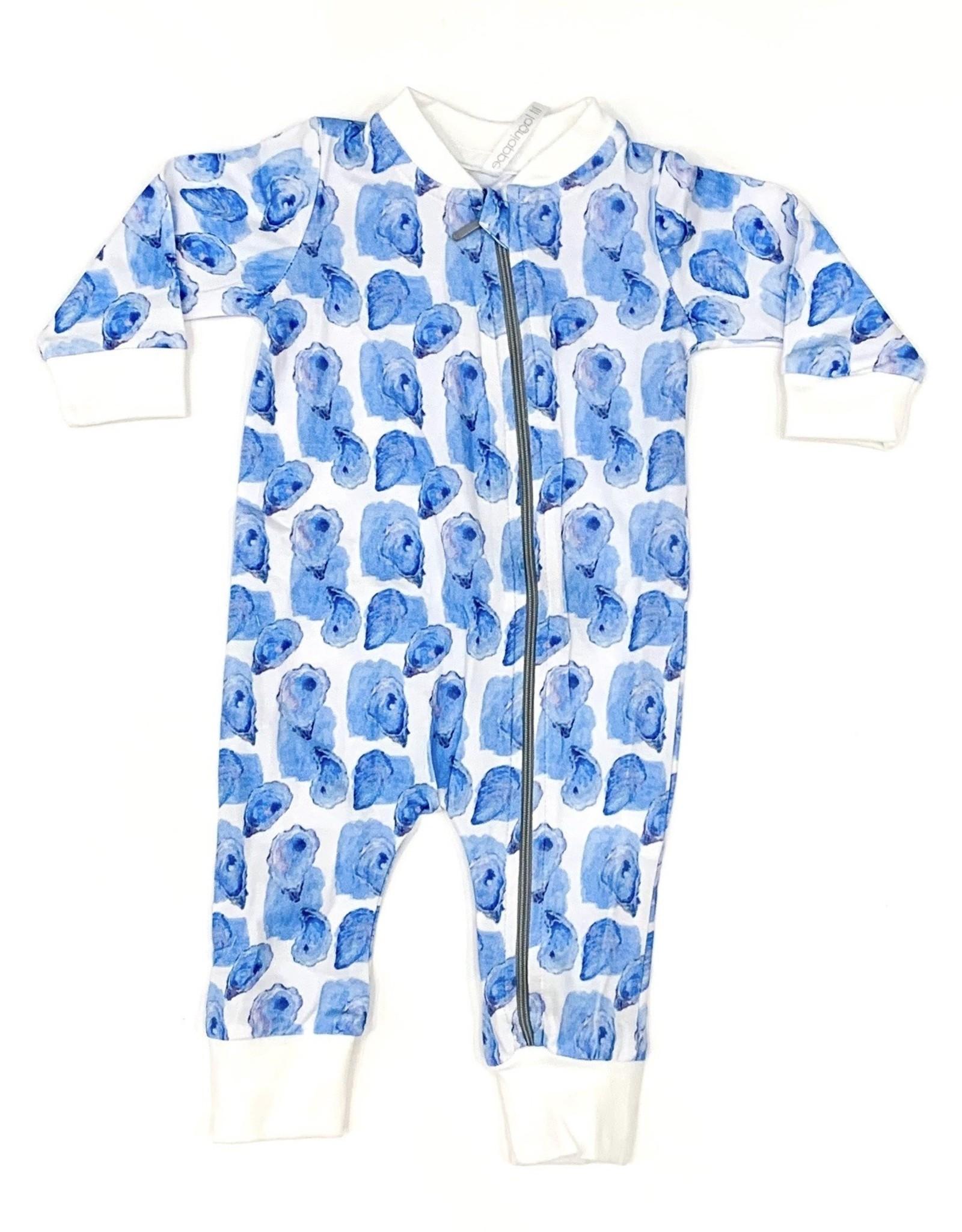 Velvet Fawn Awww Shucks! Zipper Pajamas