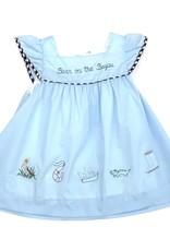 Krewe Blue Born On The Bayou Dress