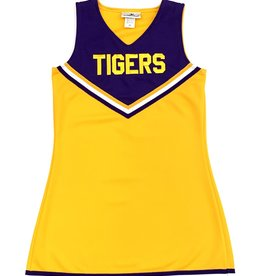 Motionwear Cheer Kids Dress Two Color Bright Gold