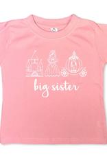 Honey Bee Tees Big Sis Princess Trio 12-18m