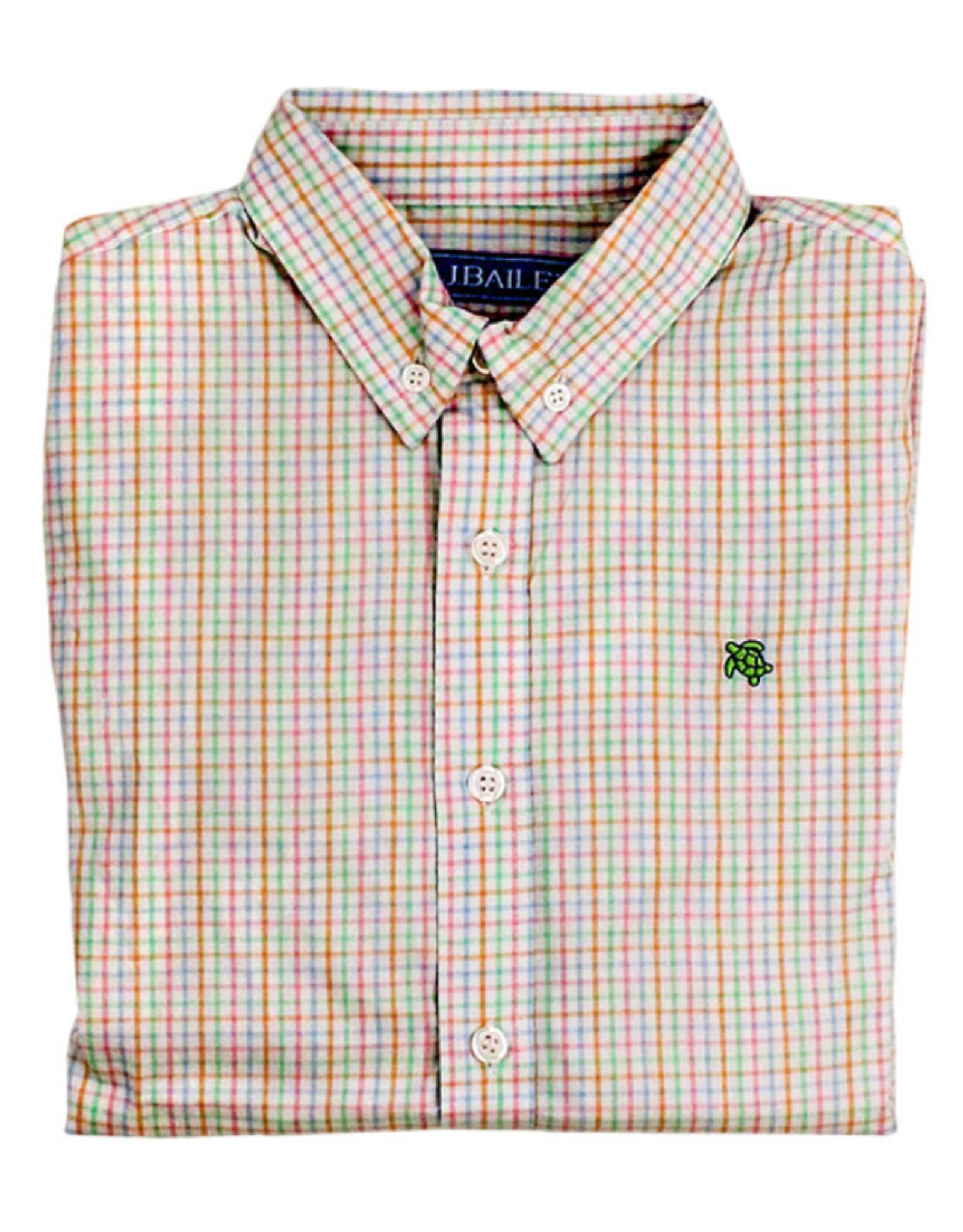 The Bailey Boys Easter Basket Windowpane Button Down Shirt