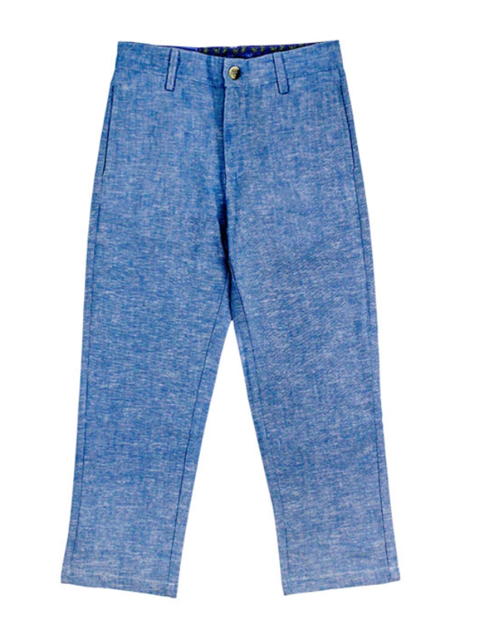 The Bailey Boys Sky Linen Pants