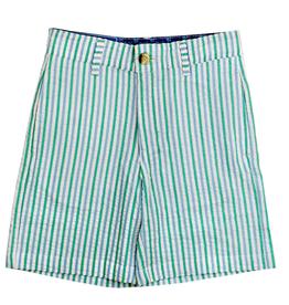 The Bailey Boys Mint Seersucker Shorts