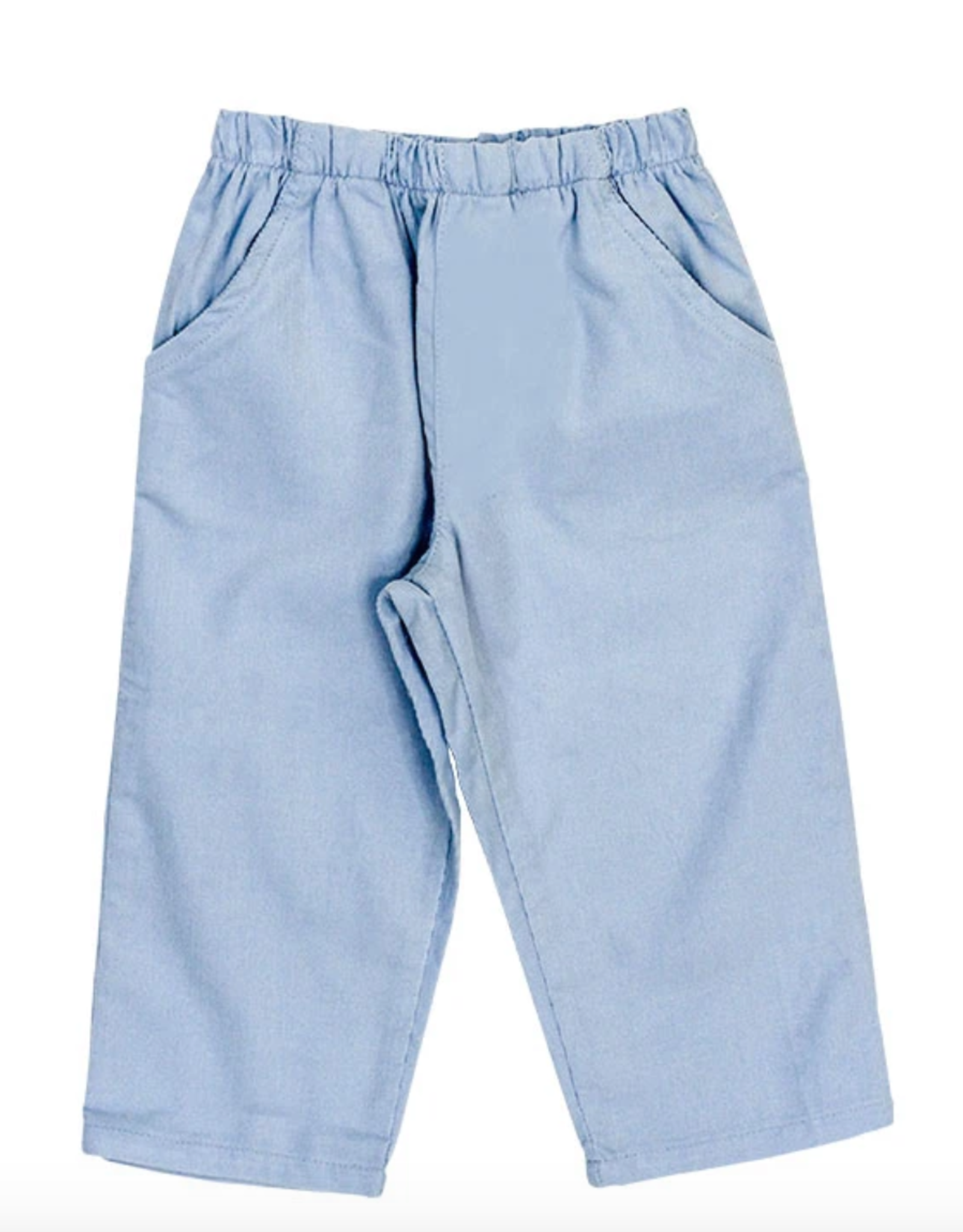 The Bailey Boys Light Blue Cord Elastic Pants