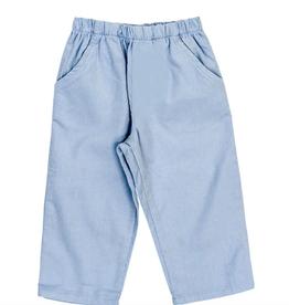 The Bailey Boys Light Blue Cord Elastic Pants