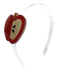 Lillies&Roses Headband Apple Red Glitter