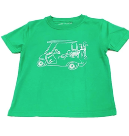 Mustard & ketchup Green Golf Cart Tee