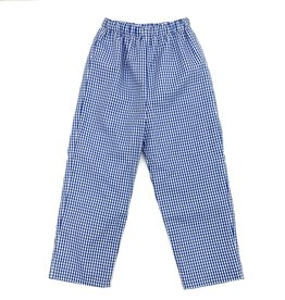 Claire and Charlie Wizard of Oz Royal Blue Check Pants
