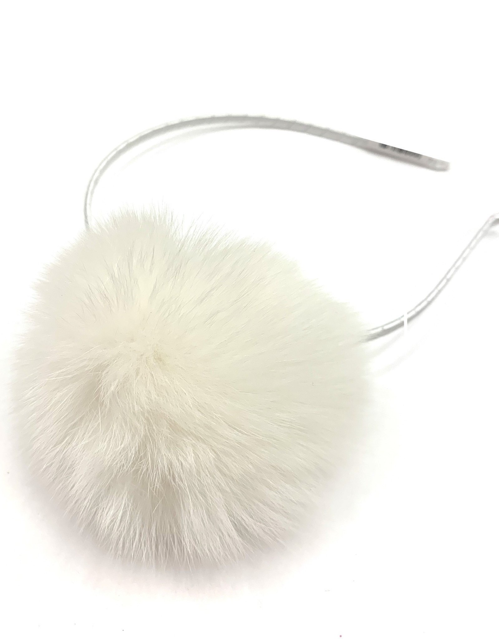 Bari Lynn Puff Fur Ball Headbands