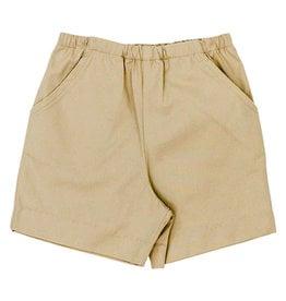 The Bailey Boys Khaki Elastic Twill Shorts