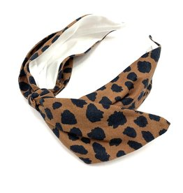 Brooke Wright Leopard Headband
