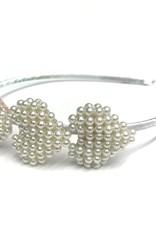 Bari Lynn 3 beaded heart headband