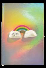 Iscream Rainbow Squishy Holographic Journal
